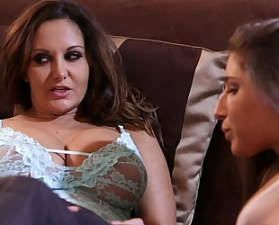Abella danger and ava addams a-hole lesbos