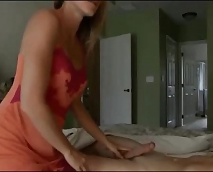 Cory follow in amateur sexy golden-haired milf homemade