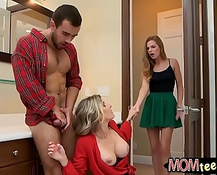 Cory follow and sydney cole 3some sex
