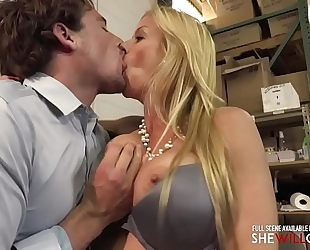 Shewillcheat - boss slutty wife alexis fawx welcomes a recent employee