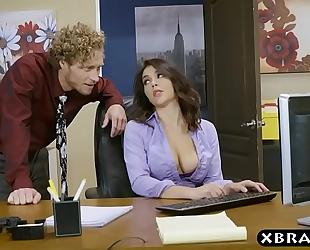 Big butt valentina nappi office footjob blow job and fuck