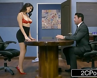 Italian business woman valentina nappi receives a hardcore office fucking