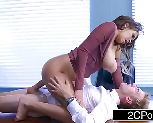 Cassidy banks acquires some large white weenie at work