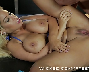 Wicked - asa akira and allies acquire gazoo screwed by strippers