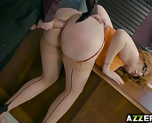 Busty lauren phillips can't live without fucking with her boss