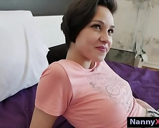 Teen nanny pounded by her boss for cash