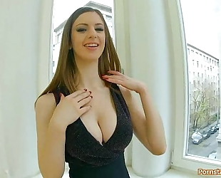 Lots of tit pounding, enjoyable indecent talk, finished with a gigantic boob cumblast