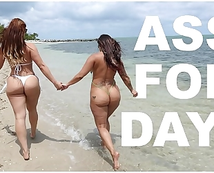 Bangbros - latin babe lesbos spicy j & miss raquel's asstastic day at the beach