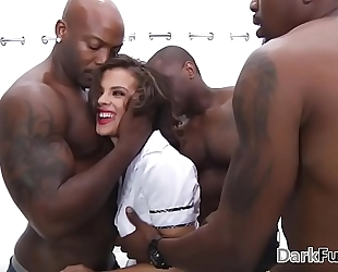 Brutal monster dong anal group-sex - keisha grey