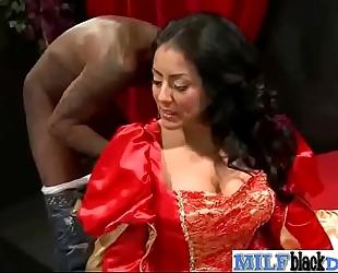 Naughty milf (kiara mia) like sex with large dark monster knob fellow mov-18