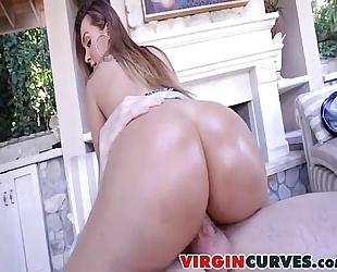 Klaras butt is gold - klara gold 00257