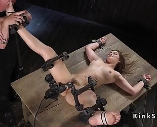 Slave in device thraldom wet crack vibed