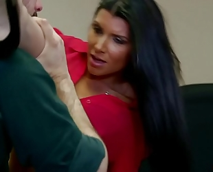 Office floozy romi rain