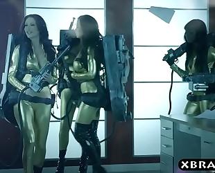 Ghostbuster parody where hot pornstars fuck in an fuckfest