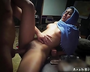 Arab show butt sneaking in the base!
