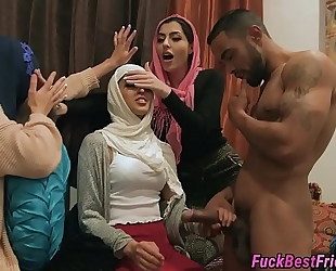 Hijab bride screwed by stripper