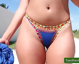 Beachside bonita with sophia leone tube movie-01 - (teens love money)