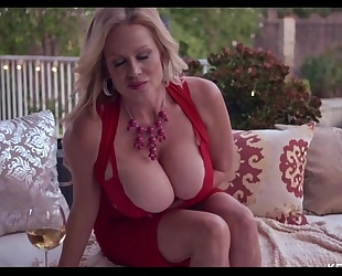 Busty kelly madison is smokin' sexy with a stogie