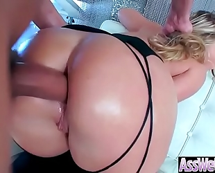 Anal sex with excited large gazoo oiled dirty slut wife (aj applegate) video-03