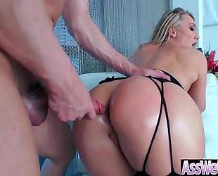 (aj applegate) big round oiled butt hotwife love hard anal intercorse video-04