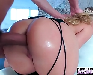 (aj applegate) superb curvy black cock sluts with giant wazoo have a fun anal sex movie-03