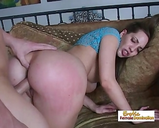 Everyone enjoys seeing a chubby butt getting drilled silly