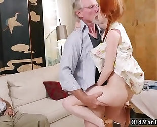Old chap train juvenile and mama hardcore fuck 1st time online hook-up