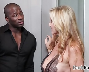 Julia ann can't live without dark monster weenie at darkx