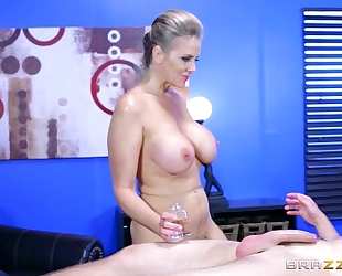 : brazzers - alena croft takes a rod in her butt