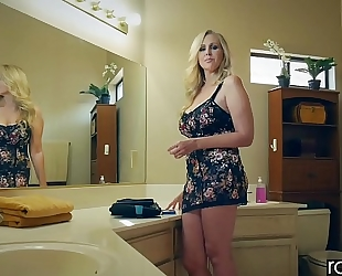 Raw attack - julia ann is pounded by a large 10-Pounder, large wazoo & large meatballs