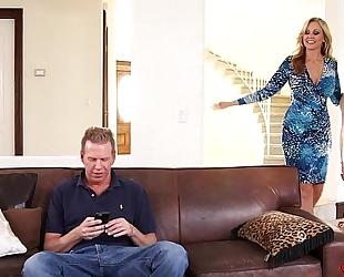 Julia ann, angel smalls sharing same knob