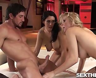 Big breasts julia ann and raylene fucking