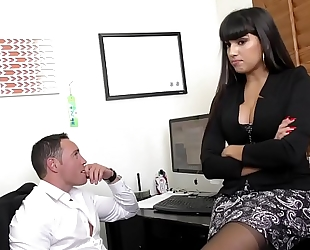 Mercedes carrera pounds on large dick