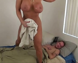 Hot mommy assist son - alura jenson