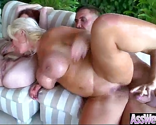 Deep hard anal style sex with massive booty Married slut video-04