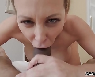 Milf bonks and swallows xxx cherie deville in impregnated by my
