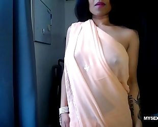 Live indian porn show by excited lily