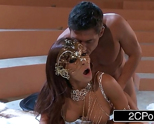Madison ivy's first-time anal sex goes more good than planned