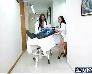 Hard sex in doctor office with concupiscent patient (marta la croft) vid-20