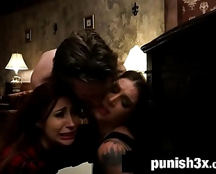 Submissive jade jantzen trapped in a sadomasochism hostel