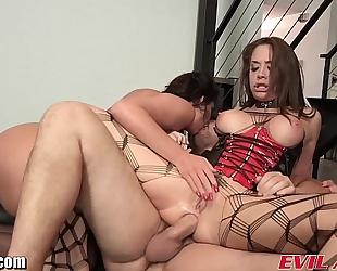 Evilangel phoenix marie anal three-some