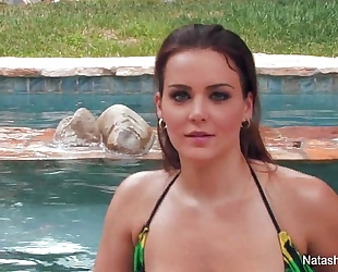Natasha good jacuzzi pleasure