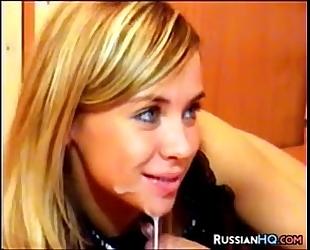 Beautiful russian pleasure
