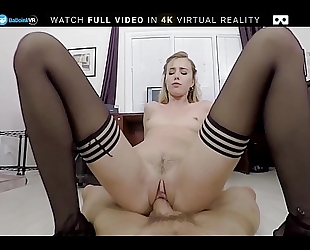Badoinkvr pov office fuck with hawt blonde haley reed