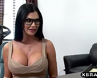 Best lawyer in city needs some breasty anal convincing