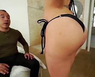 Santy, mexican bonks hawt jasmine jae in the booty