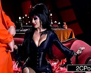 Elvira the dominant-bitch - midnight madness w/ charming horror hostess katrina jade