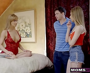 Momsteachsex - breasty milf acquires sexy mother's day trio! s8:e4