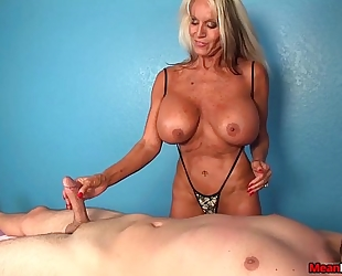 Experienced wife dom cook jerking