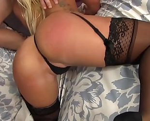 Blonde cali carter hardcore mouth-fuck